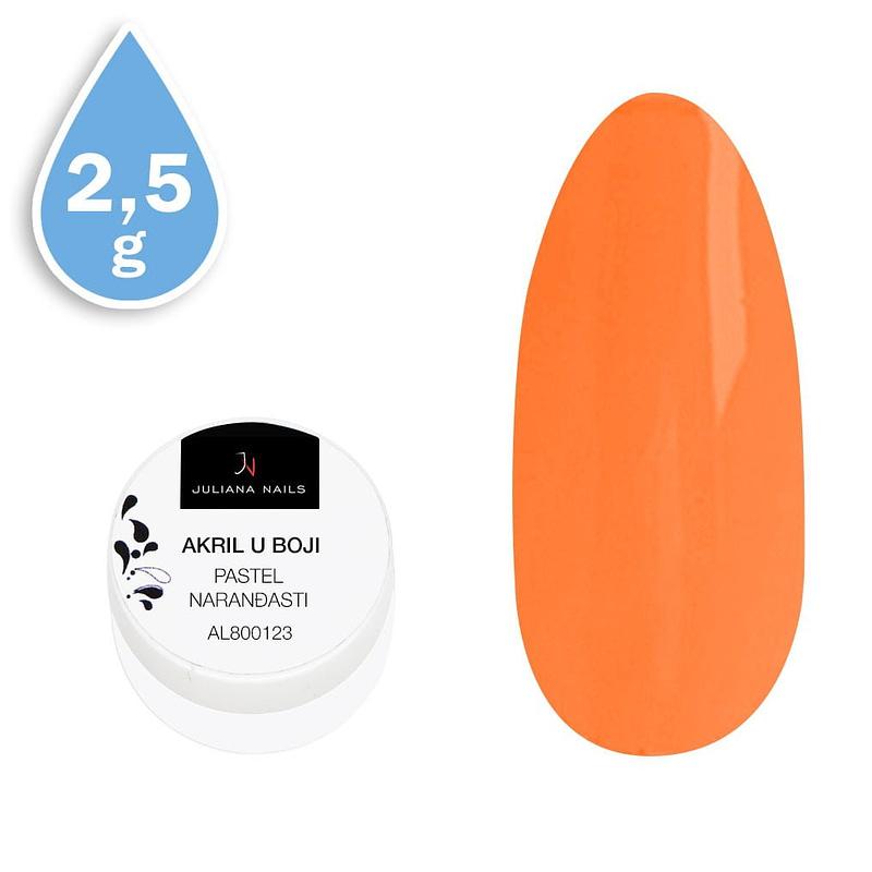 Akril u boji pastel narančasti 2,5g