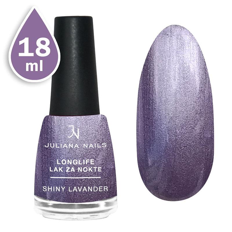 Longlife lak za nokte 18ml - shiny lavender