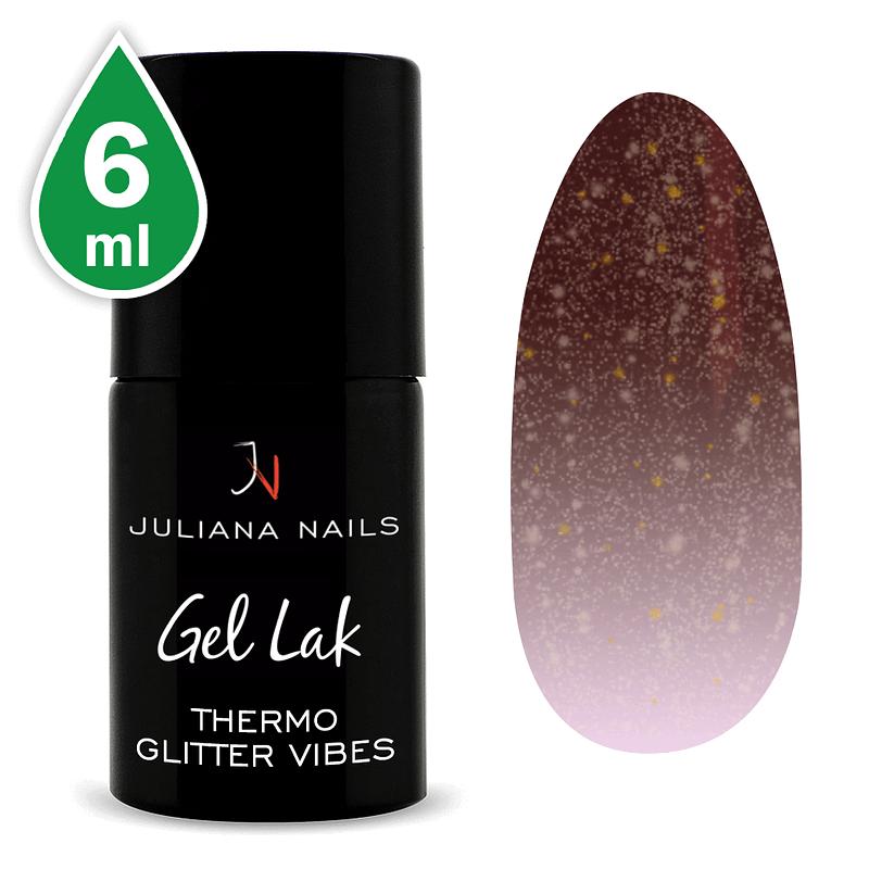 Gel lak (trajni lak) Termo Glitter Vibes 6ml