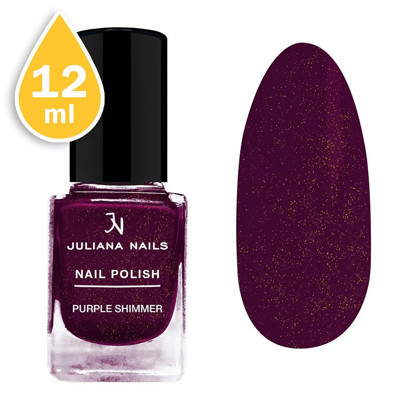 Lak za nokte Juliana Nails 12ml - purple shimmer