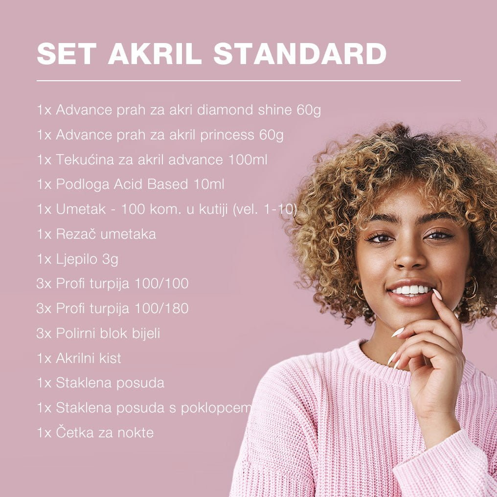 Set Akril Standard