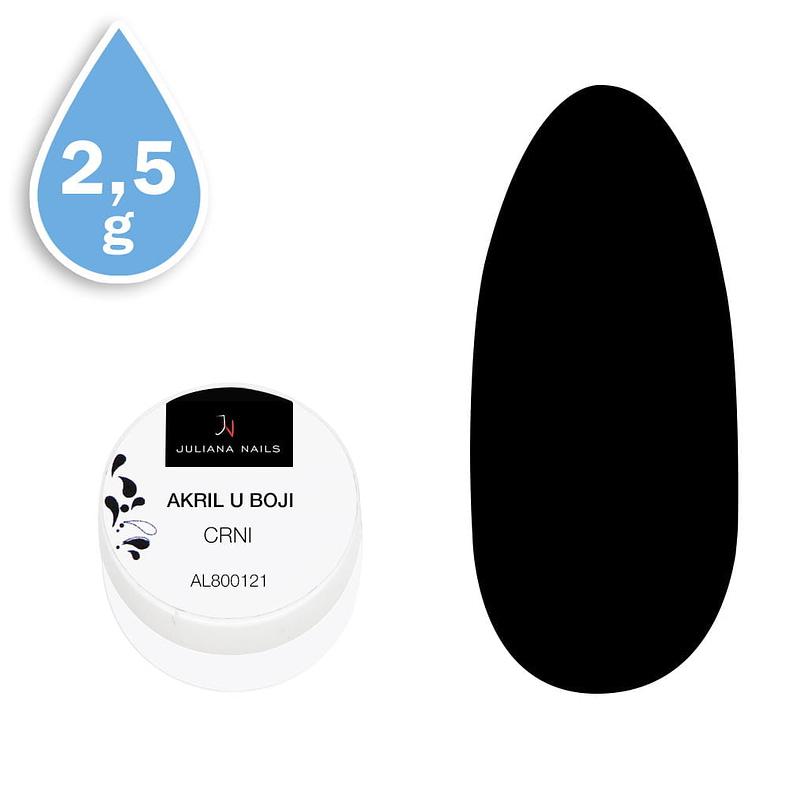 Akril u boji crni 2,5g