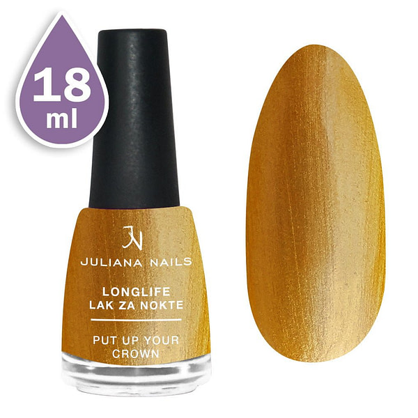 Longlife lak za nokte 18ml - put up your crown