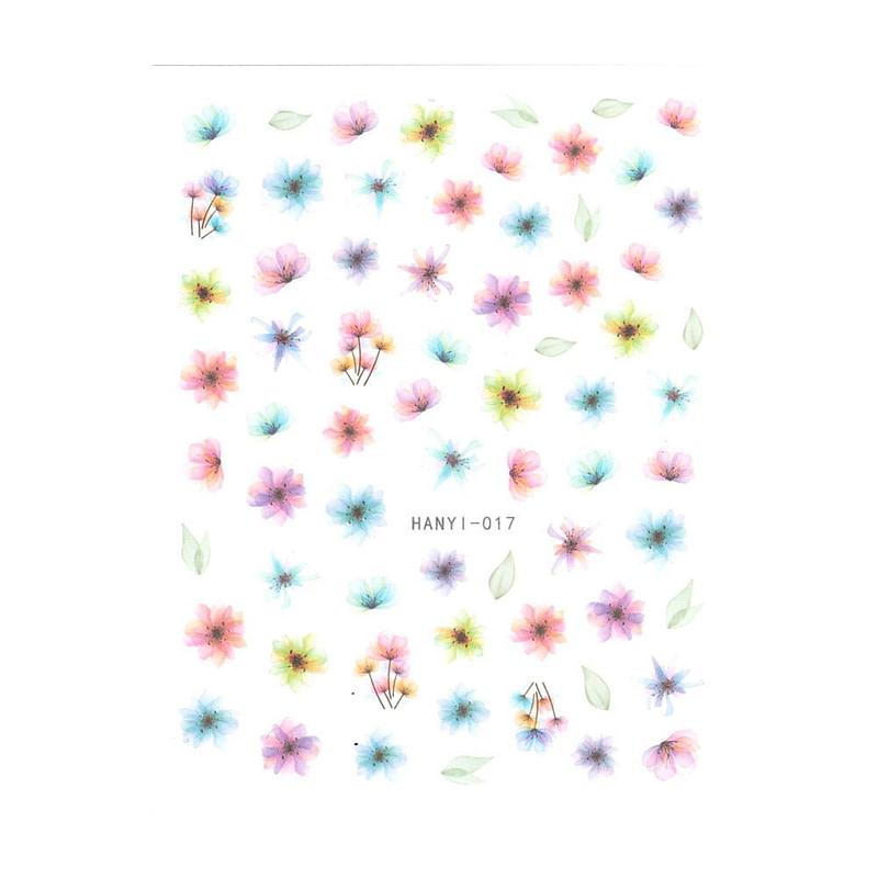 Nail Art naljepnica Flowers I