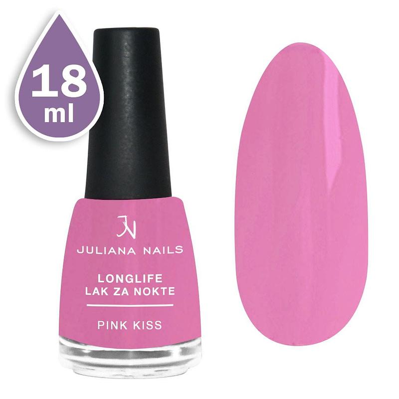 Longlife lak za nokte 18ml - pink kiss