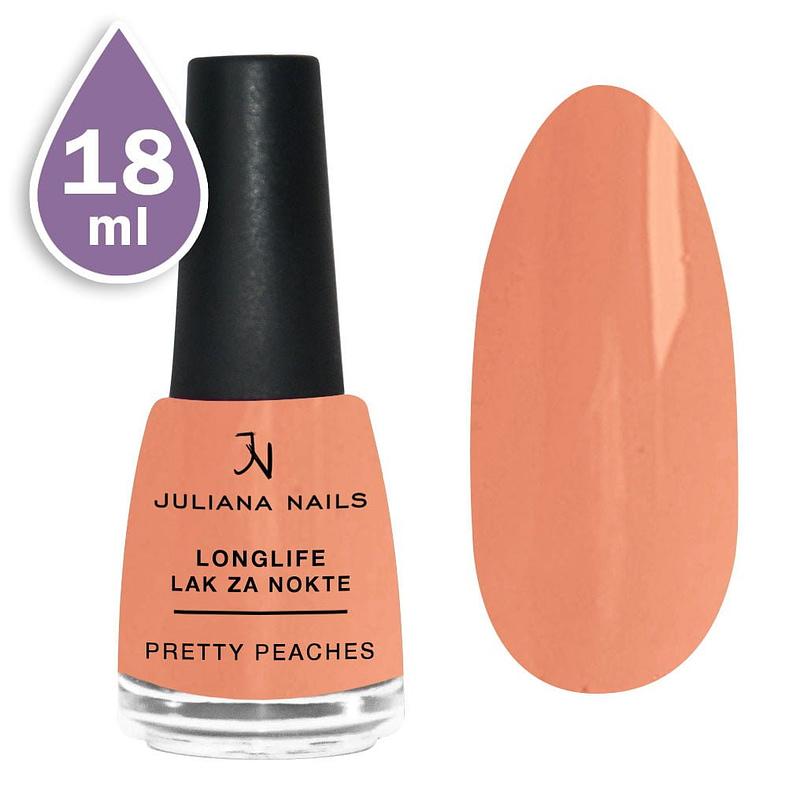 Longlife lak za nokte 18ml - pretty peaches