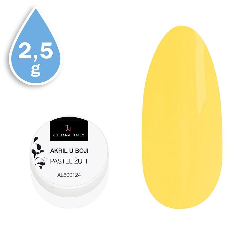 Akril u boji pastel žuti 2,5g