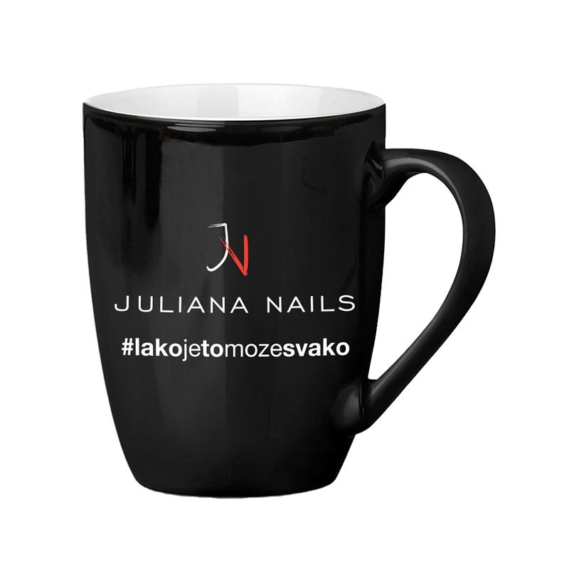 Juliana Nails šalica - #lakojetomožesvako