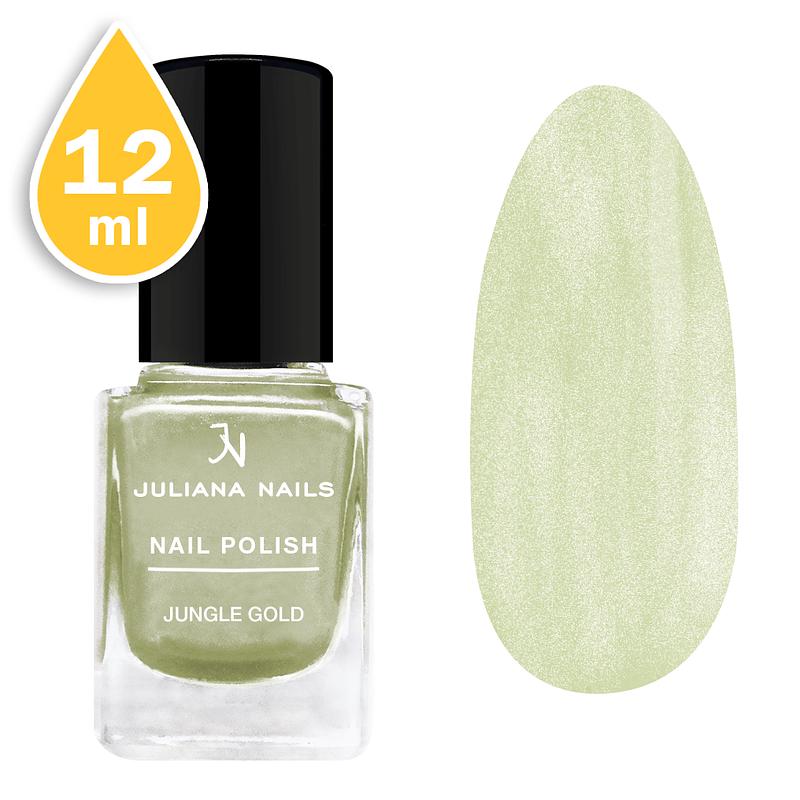 Lak za nokte chrome Juliana Nails 12ml - jungle gold