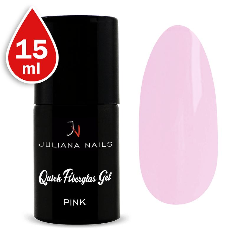 Quick Fiberglas Gel Pink 15ml