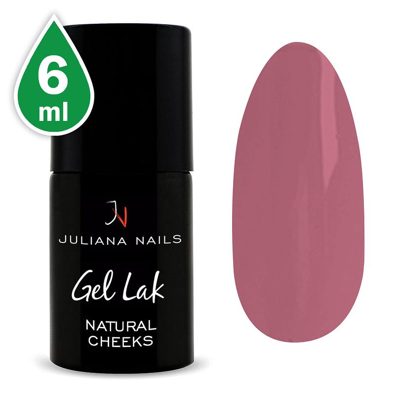Gel lak (trajni lak) Natural Cheeks 6ml - Juliana Nails