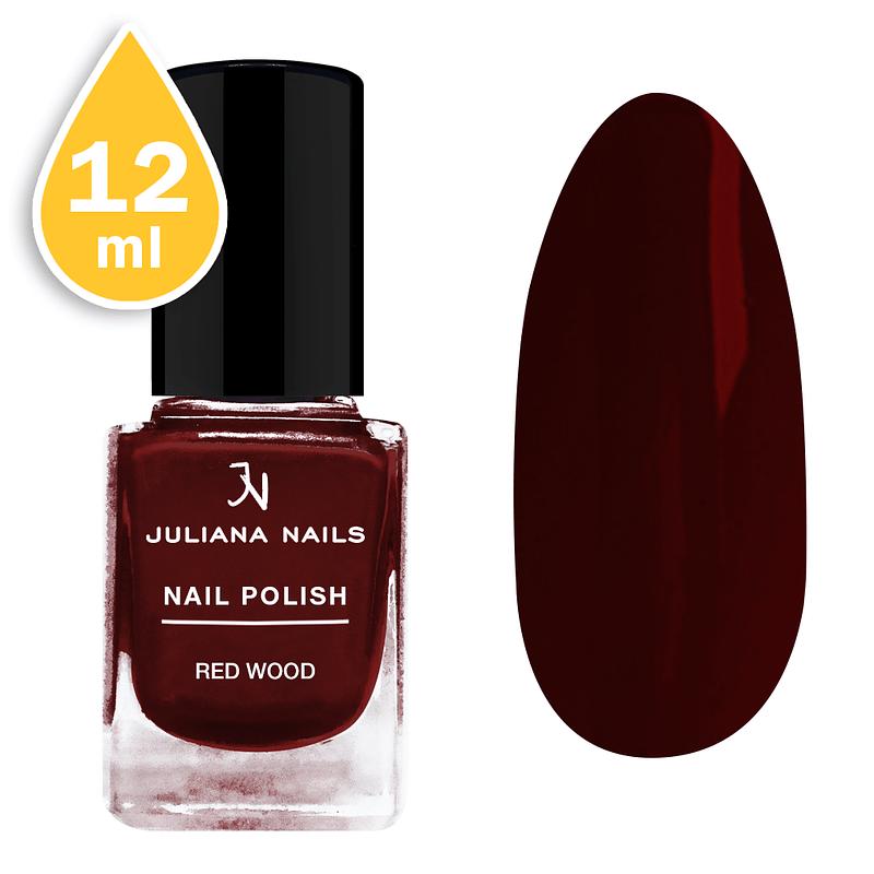 Lak za nokte Juliana Nails 12ml - red wood